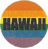 Rainbow Hawaii Button