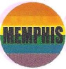 Rainbow Memphis Button