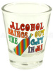 """Gay in Me"" Shot Glass"