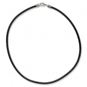 Leather Necklace- 16, 18, 20 or 24""