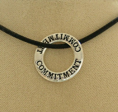 """Commitment"" Infinity Necklace"