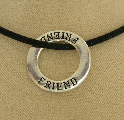 """Friend"" Infinity Necklace"
