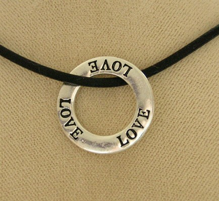 """Love"" Infinity Necklace"