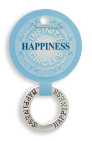"""Happiness"" Infinity Pendant"