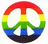 Rainbow Peace Patch